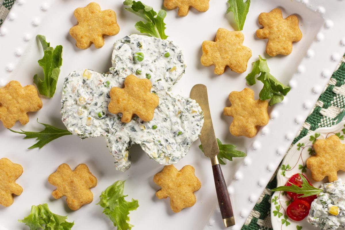 MFTK Shamrock Dip Cheese Crisps