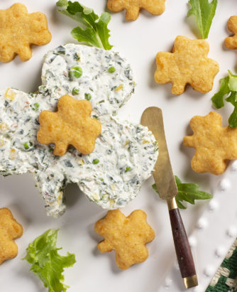 MFTK Shamrock Dip Cheese Crisps