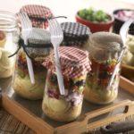 Cheese Ravioli Taco Dip Salad