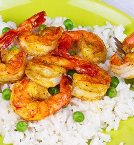 Floridas Natural Punjabi Spiced Shrimp