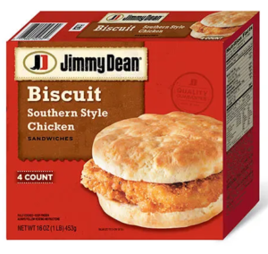 Jimmy Dean Southern Style Chicken Biscuits