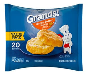 Pillsbury Honey Butter Frozen Biscuits