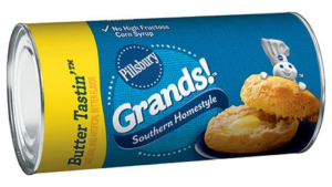 Pillsbury Southern Homestyle Butter Tastin Biscuits