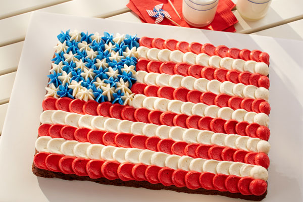 Fourth of July Brownies