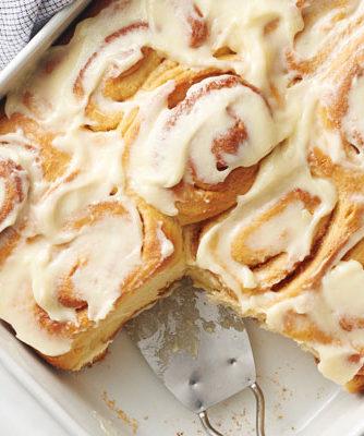 buttery cinnamon rolls