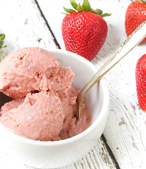 Chef Jamie Tart Strawberry Frozen Yogurt