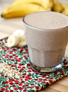 Hood Chocolate Banana Breakfast Smoothie