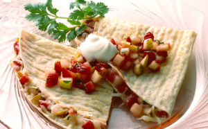 Sargento Quesadillas with Fruit Salsa
