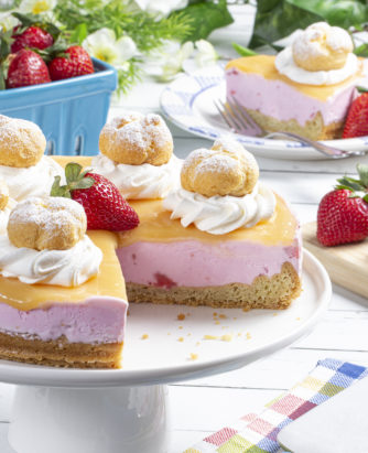 MFTK Strawberry Lemon Ice Cream Tart