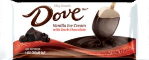 Dove Vanilla Ice Cream Bar Dark Chocolate