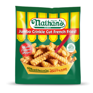 Nathan's Crinkle Cut Fries