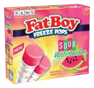 Fat Boy Sour Watermelon Freeze Pops
