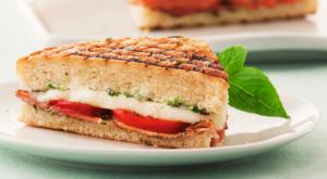 Galbani Panini with Prosciutto and Fresh Mozzarella