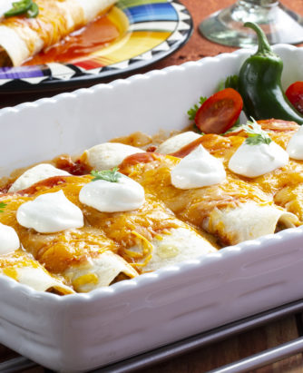 MFTK Meatless-Enchiladas