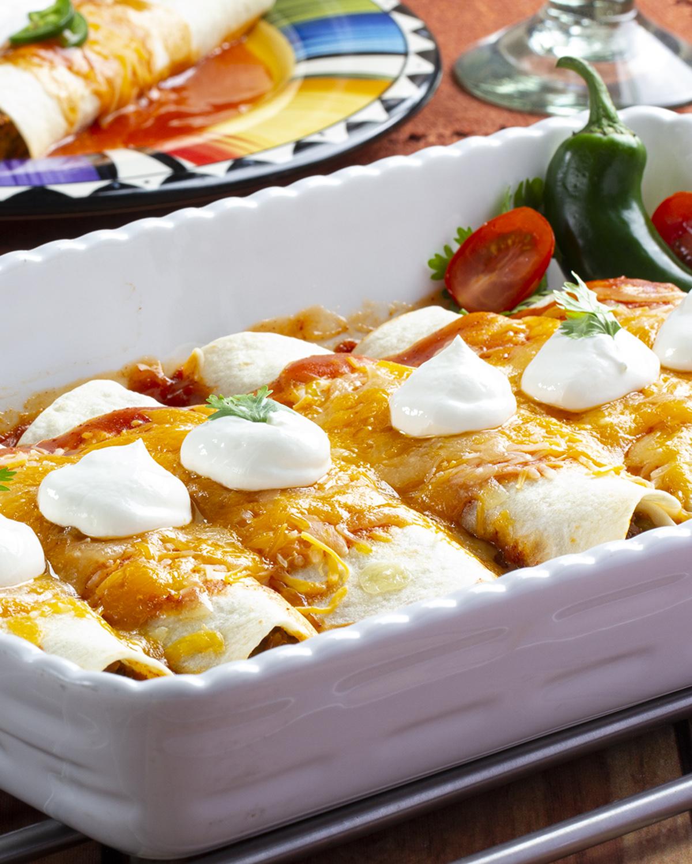 MFTK Meatless-Enchiladas
