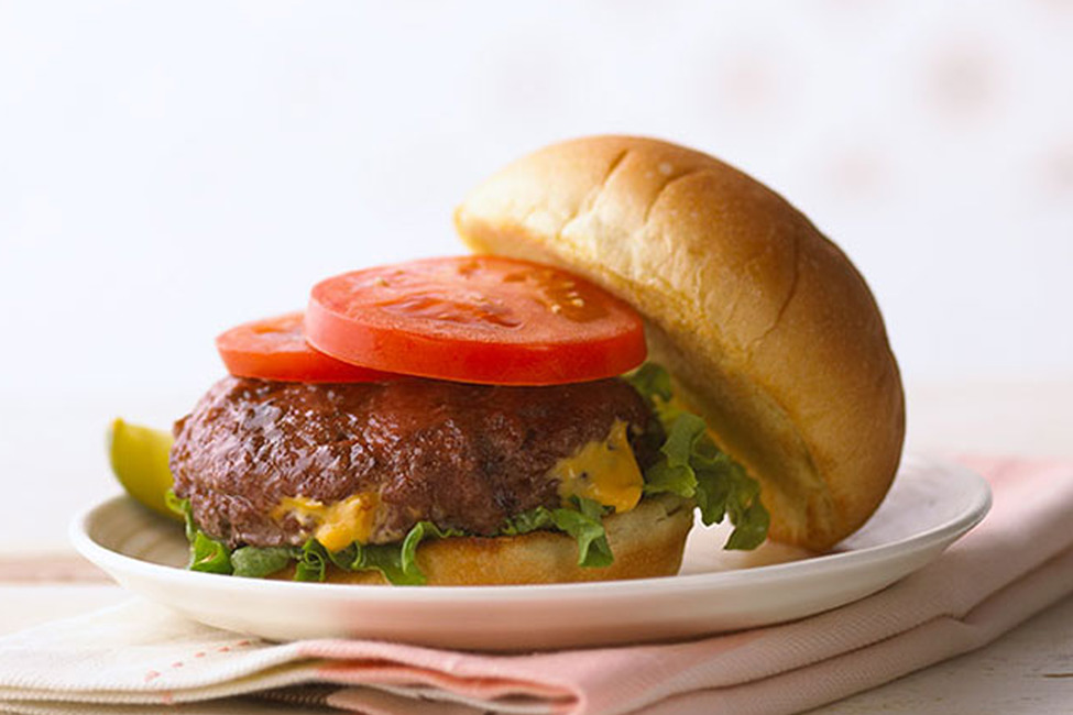 Kraft Inside Out Bacon Cheeseburgers