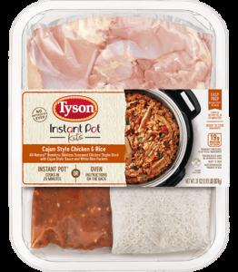 Tyson Instant Pot Cajun Style Chicken Rice Kit
