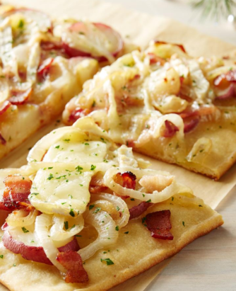 Wewalka Bacon Potato Pizza