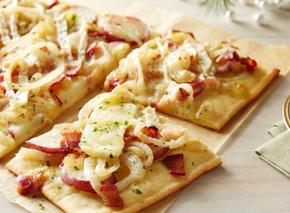 Wewalka Bacon Potato Pizza