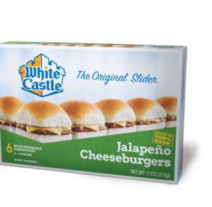 White Castle Jalapeno Cheese Sliders
