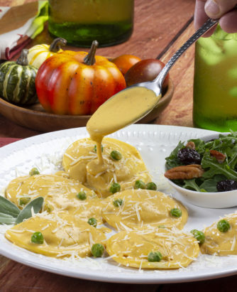 MFTK Cheesy Pumpkin Ravioli