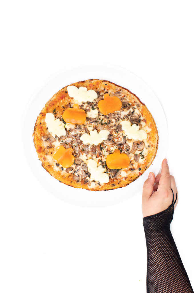 Dawn Batty Pumpkin Pizza