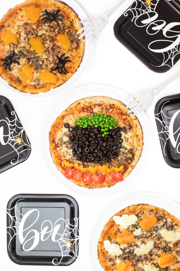 Dawn Halloween Pizzas