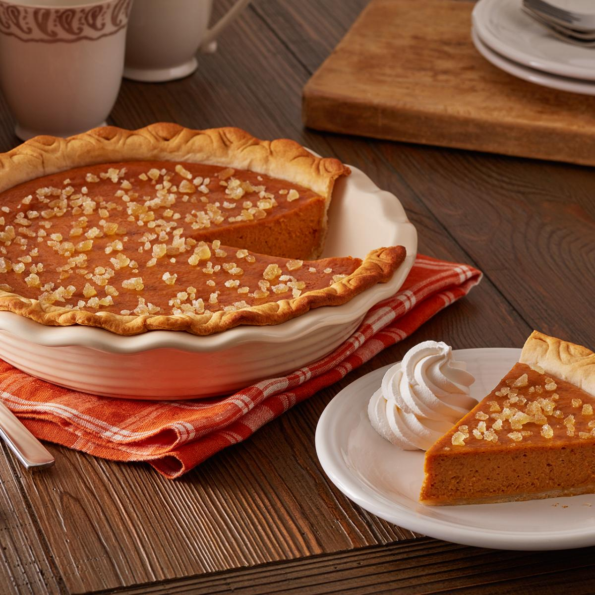 Wewalka Pumpkin Pie