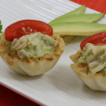 Chicken Avocado Mini Shells