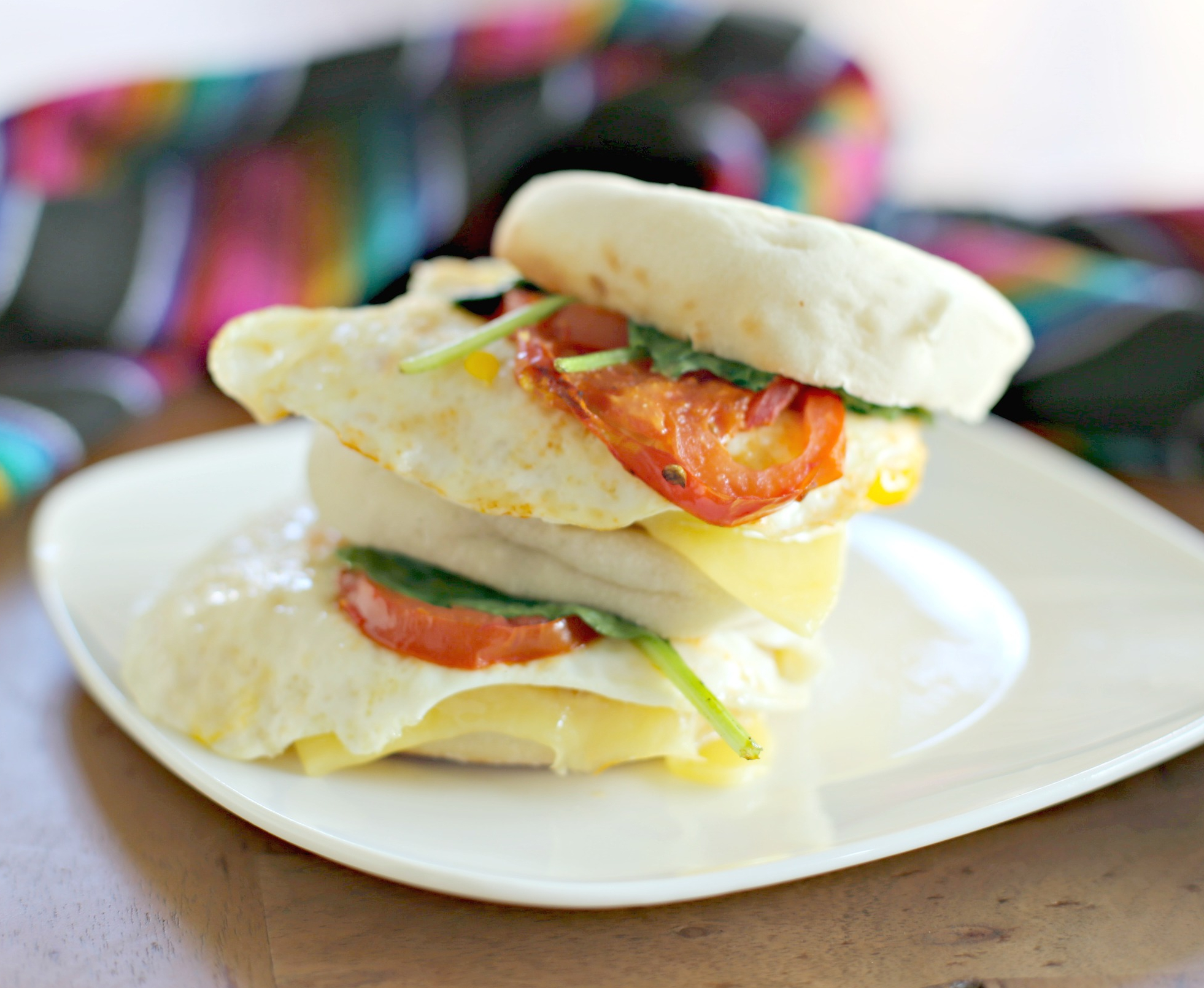 My Latina Table English Muffin Sandwich