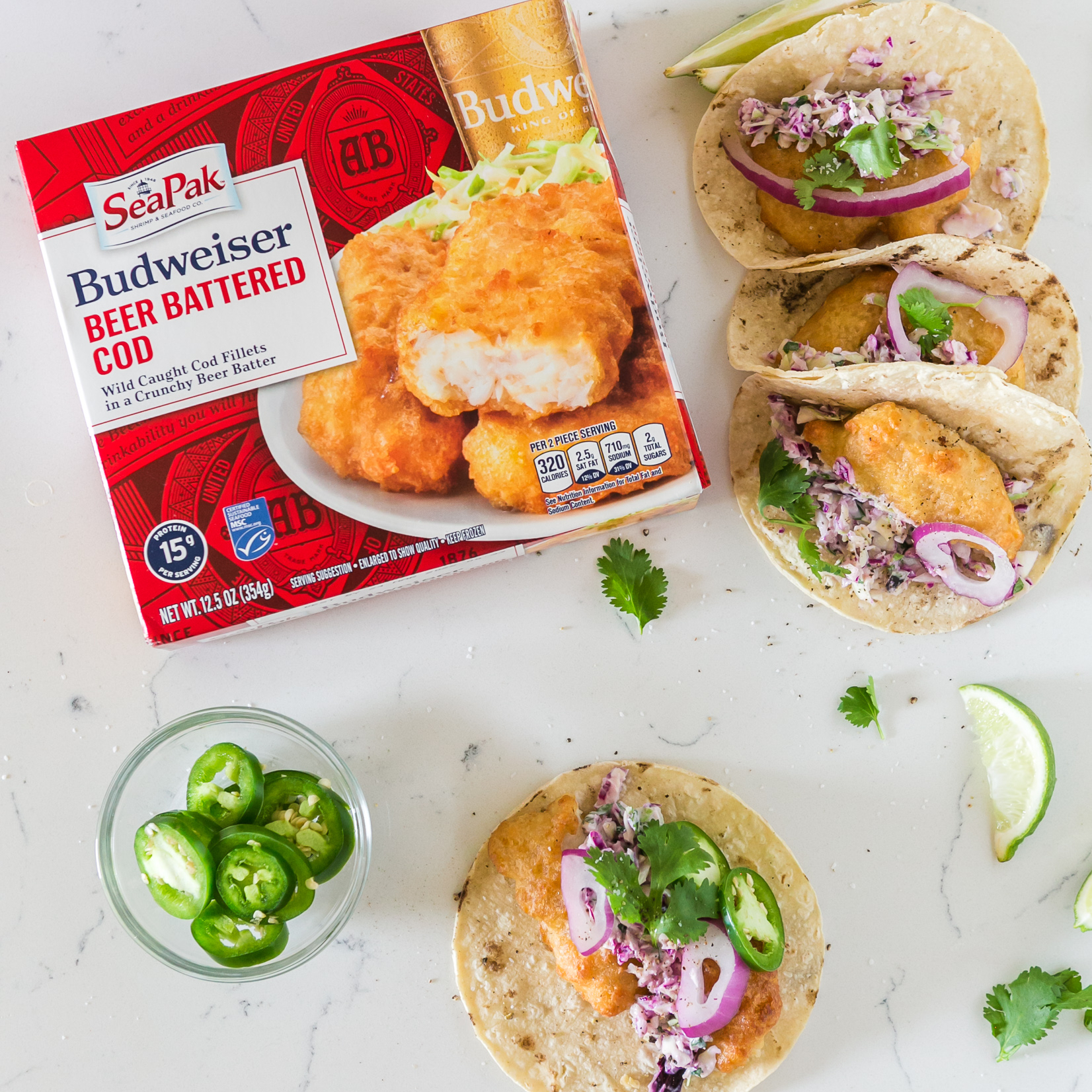 Zesty Bite Fish Tacos