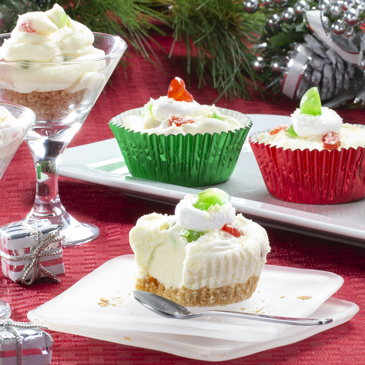 MFTK Mini White Chocolate Mousse Cups