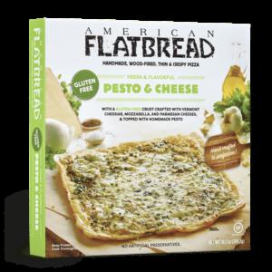 American Flatbread Gluten Free Pesto Cheese Flatbread Pizza