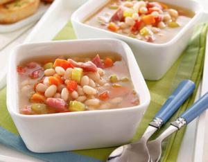 LOL Classic Ham Bean Soup