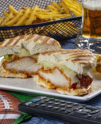 MFTK Melty Buffalo Wing-Ding Panini
