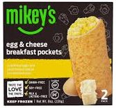 Mikeys Egg and Cheese Breakfast Pockets