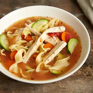 MorningStar Vegetable ChikN Noodle Soup