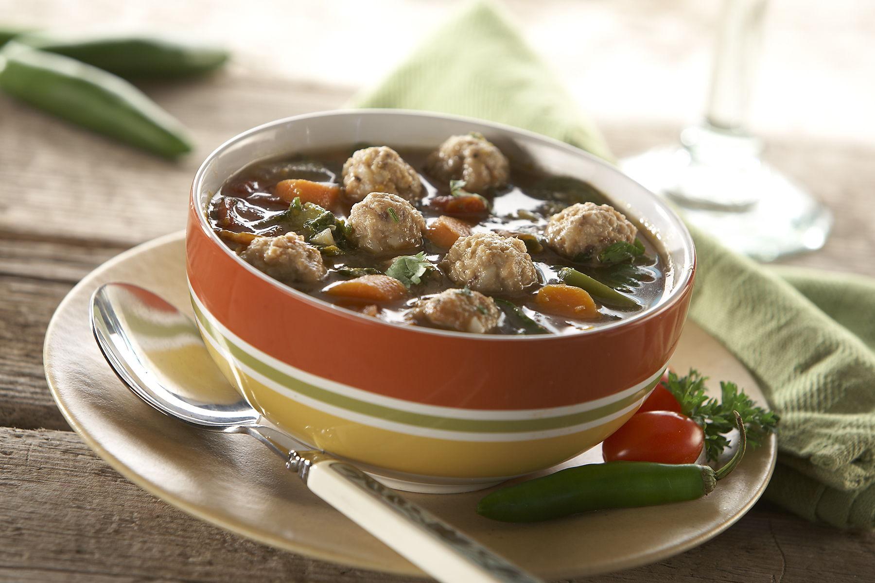 Rosina Meatball Minestrone Soup