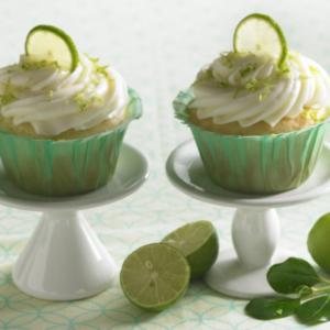 Daisy Key Lime Cupcakes