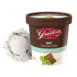 Graeters Mint Chocolate Chip Ice Cream