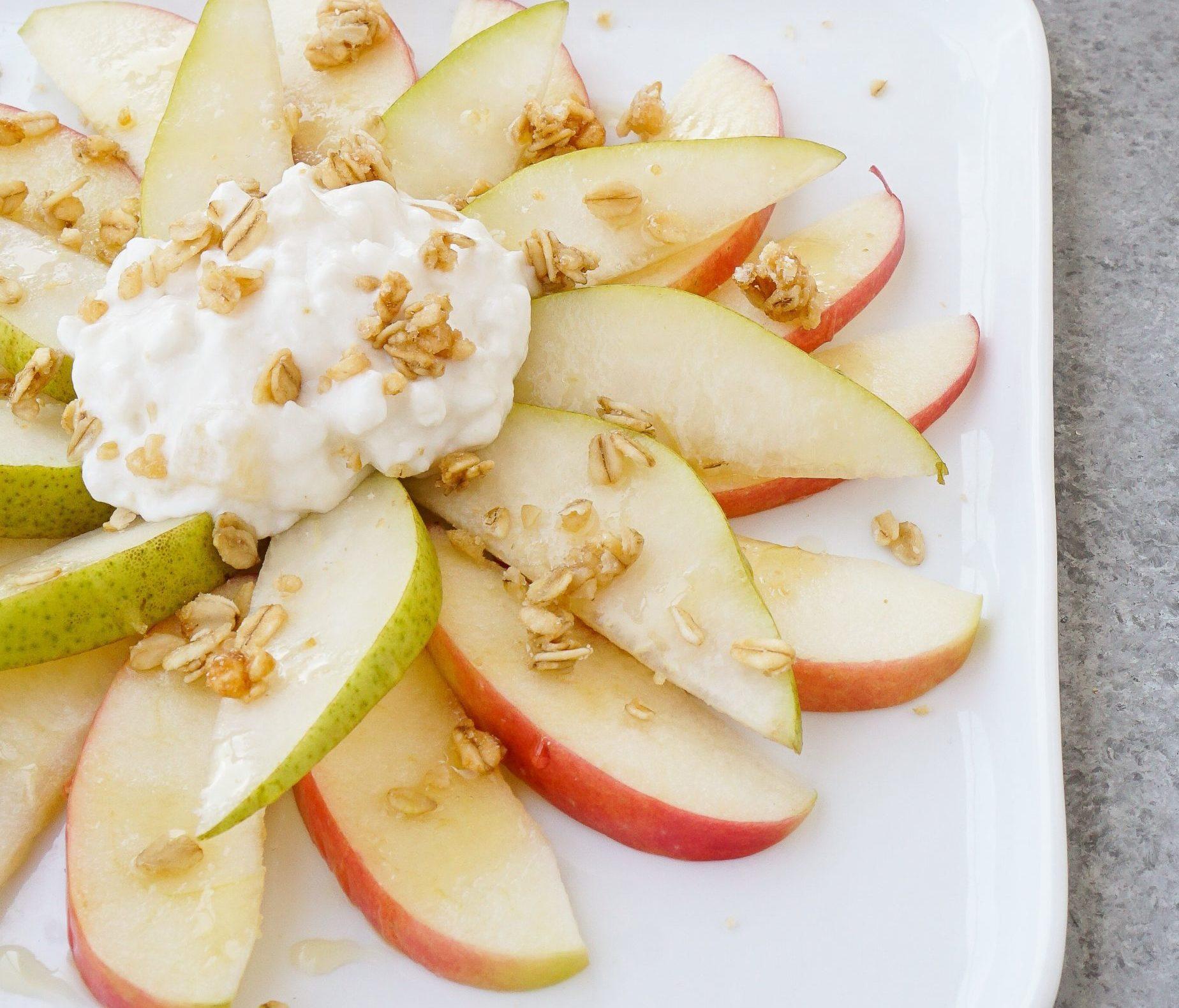 Hood Pear and Apple Nachos