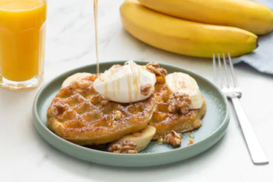 Eggo Waffles Banana-Nut French Toast