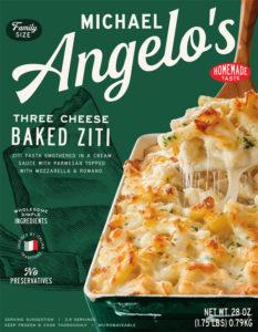 Michael Angelos Three Cheese Baked Ziti