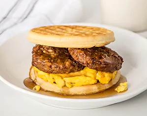 MorningStar Breakfast Waffle Sandwich