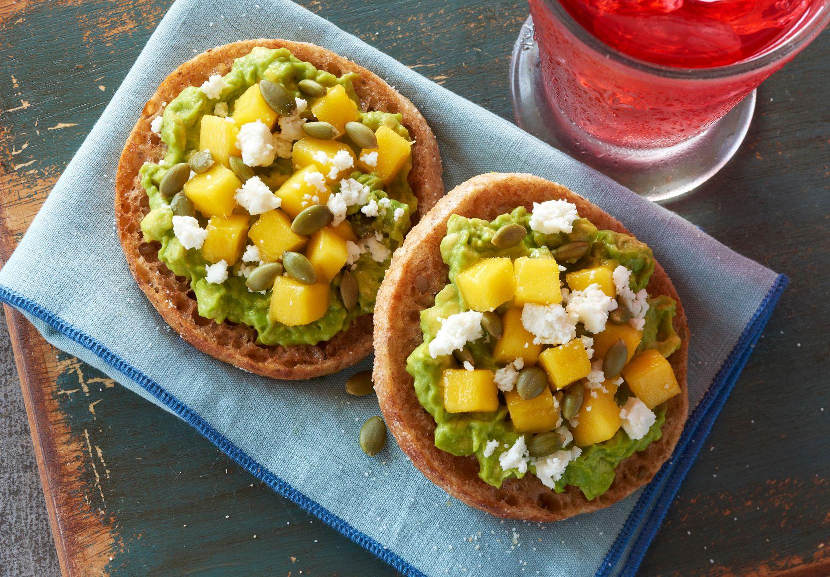 Bays Avocado Mango Smear with Pepitas