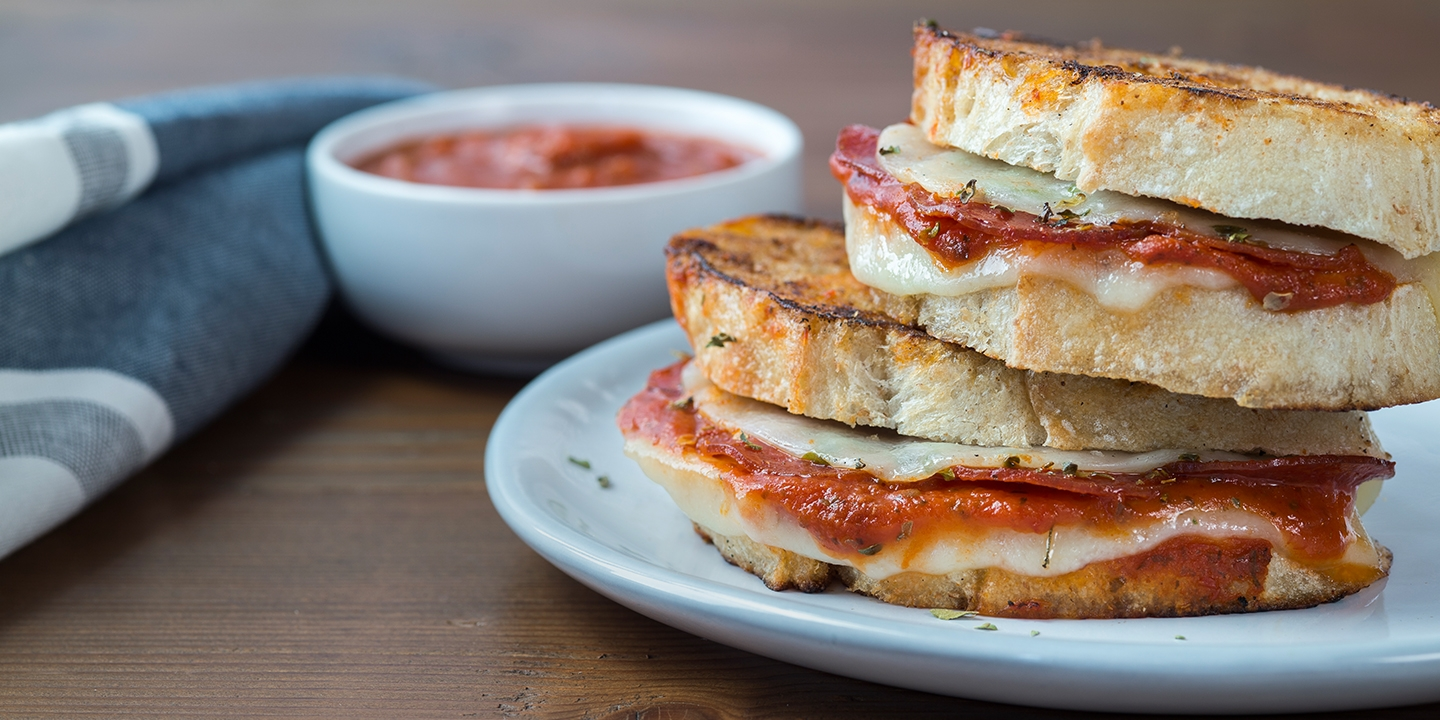 Cache Pizza Grilled Cheese Sandwich