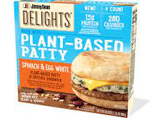 Jimmy Dean Plant Based Patty Spinach Egg White Sandwich