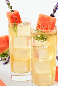 Tropicana Lavender Honey Gin and Tonic