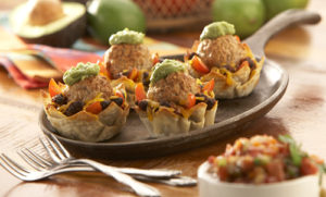 Rosina Turkey Taco Meatball Cups