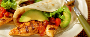 Tyson Grilled Chicken Tacos